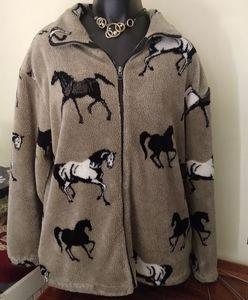 Ocean East Sportswear Horse Jacket